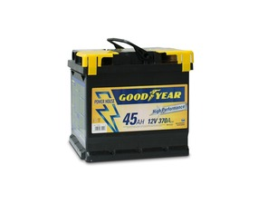 "Akumulator Goodyear 45 AMP KlipTERY ""POWER PLUS """