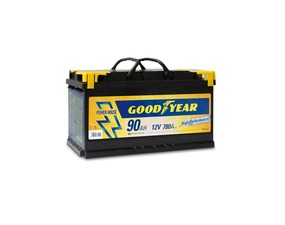 "Akumulator Goodyear 90 AMP KlipTERY ""POWER PLUS """