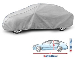 Cerada za auto Kegel Grey L Sedan, 425-470cm