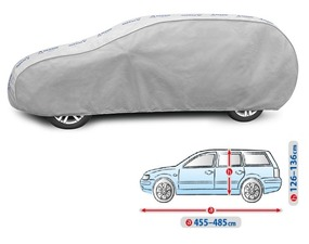 Cerada za auto Kegel Grey XL Hatchback, 455-485cm