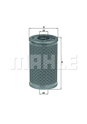 Filter ulja 111628 - BMW, Opel