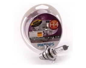 Par sijalica Philips 12V H4 60/55W Night Guide