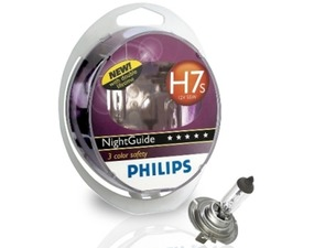 Par sijalica Philips 12V H7s 55W Night Guide